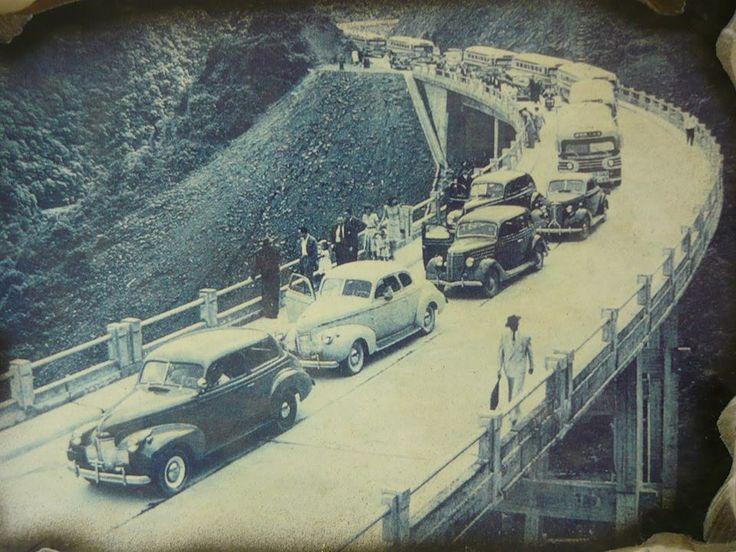 21 de abril de 1947 - Inauguração da Rodovia Anchieta.