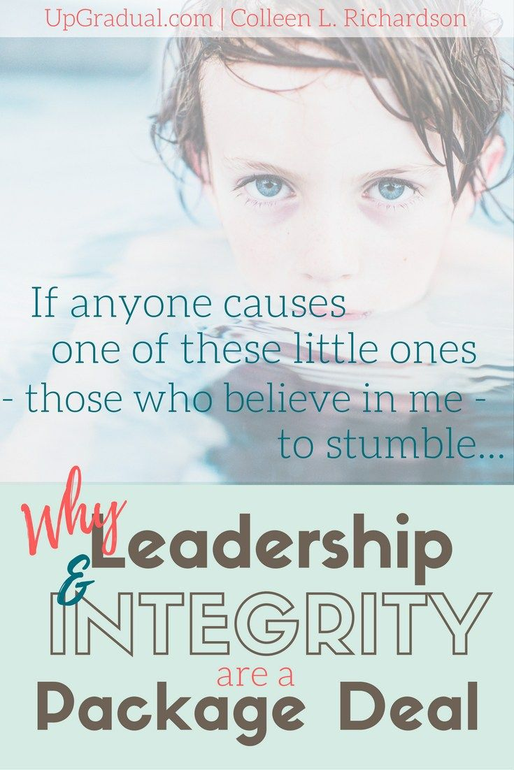 Leadership development. Integrity training. They're great buzzwords, but are we taking them seriously in the church and in our lives, as Christians?