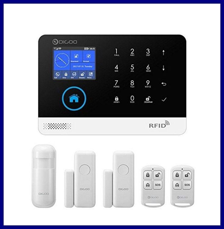 Digoo DG-HOSA 3GGSMWiFi 433MHz DIY Wireless Smart Home Security Alarm System  #DIGOO