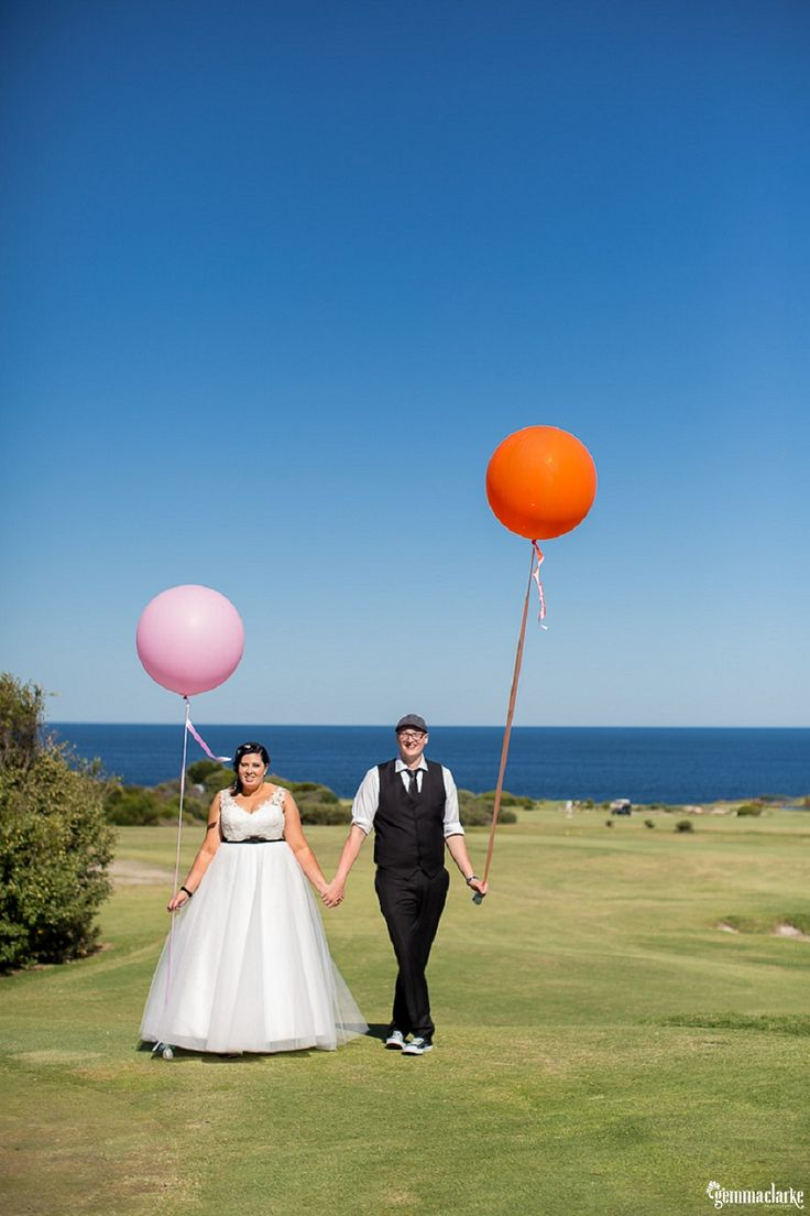 Jess and Jeff's Bright and Colourful Wedding – St Michael's Golf Club