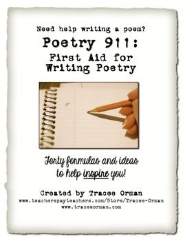 help write a poem Poetry help and practical guildlines for editing poetry.