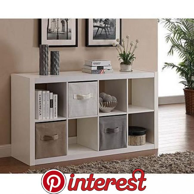 47c54b828895fb9c1778d785e6d5236e - Better Homes Gardens 8 Cube Storage Organizer