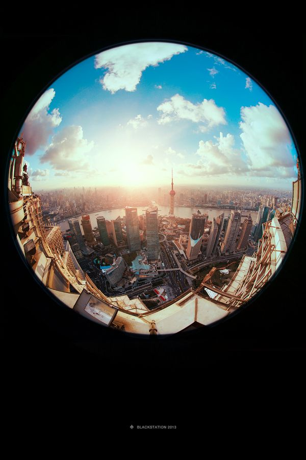 Dramatic Fisheye Photos Emphasize Height and Depth