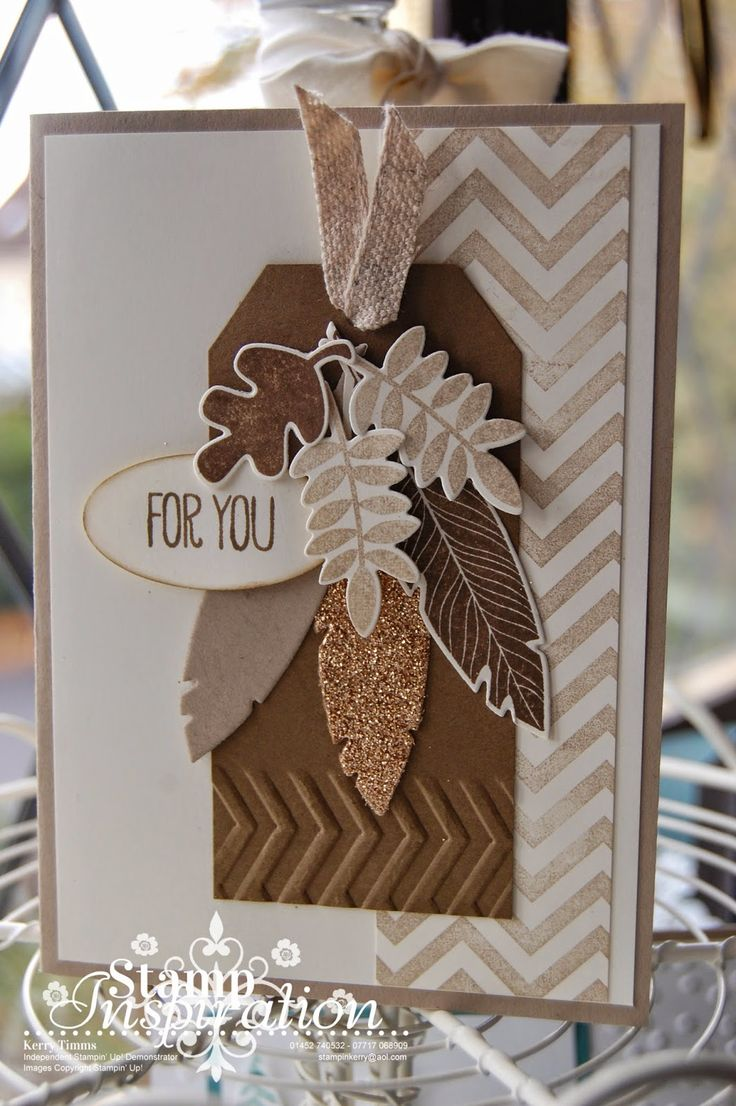 Masculine card using Stampin' Up! Four Feathers, Fall Fest Stamps and framelits dies. Visit my blog for more ideas and inispiration.