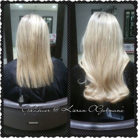 Goldfever hair extensions by Ruth