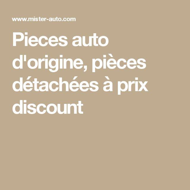 Pieces auto d'origine, pièces détachées à prix discount