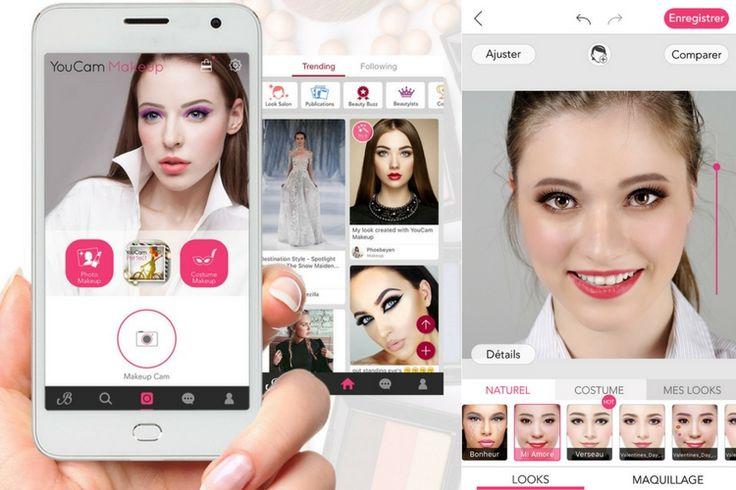 YouCam Makeup : la nouvelle application de maquillage virtuel de l'été signée You Cam Apps    #YouCamMakeup #YouCamApps #maquillagevirtuel #maquillage #application