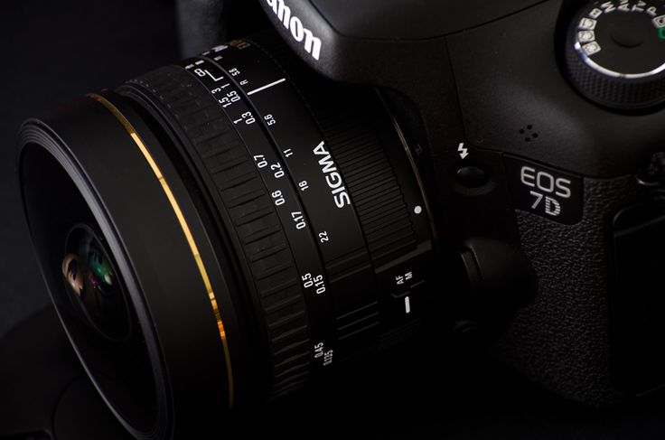 Sigma F3.5 Fisheye EX DG