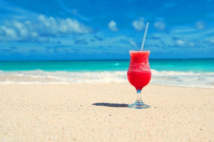 Drink on the beach