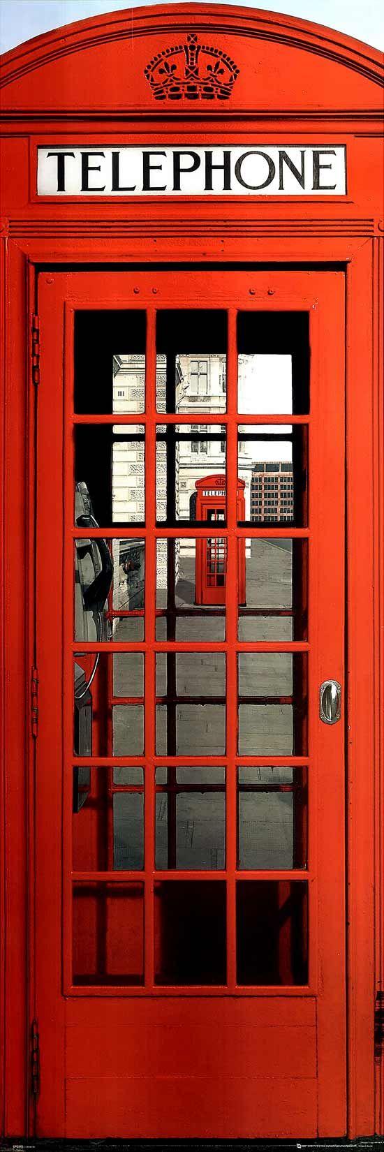 British phone booth
