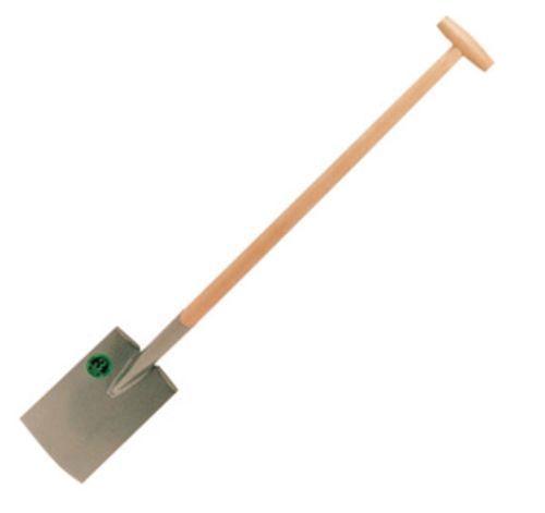 Vanga in acciaio per giardino manico in legno cm. 28X18X112