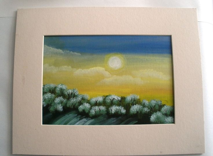 Summer Sunset by LeeArt on Etsy