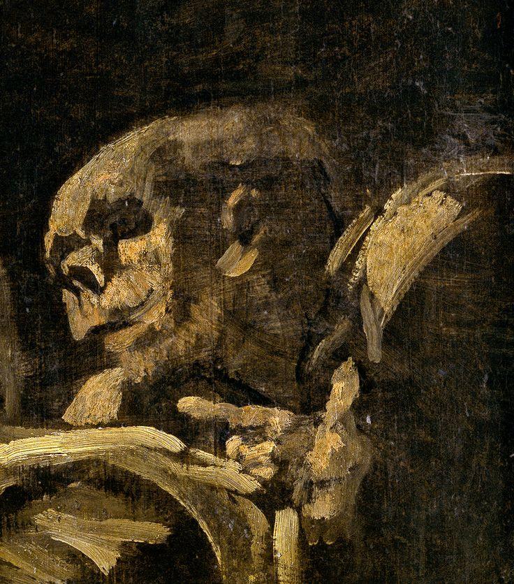 """Francisco de Goya: """"Dos viejos comiendo"""" (detail)"""
