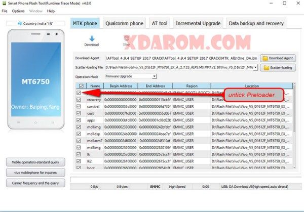 Vivo V5 1601 Flash File 100% Working Download | Xdarom com
