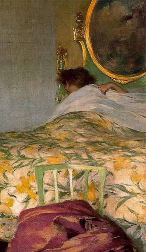 ◇ Artful Interiors ◇ paintings of beautiful rooms - Morning Ramon Casas i Carbó