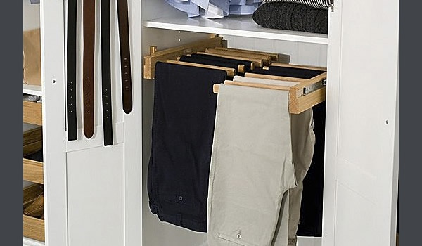 closet ideas - dress pants