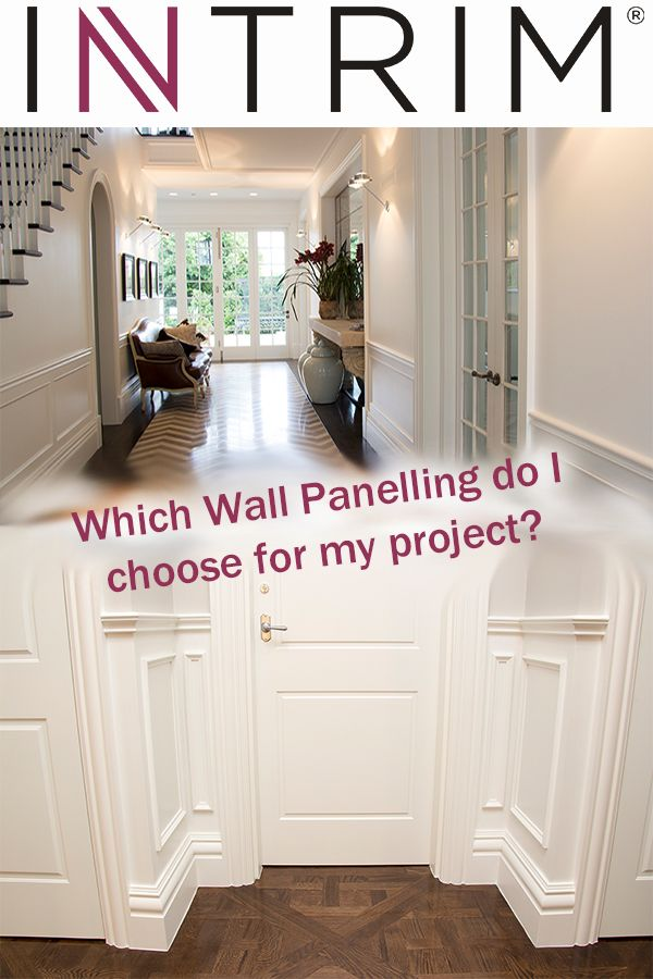 "Intrim BLOG: Add ""WOW"" with Interior Panelling: How to choose a look & style  There is much to consider when deciding to add wall panelling or wainscoting features to your walls. The style of the home, the look you want to achieve & the size of your room are all important to consider for an excellent result.   Click to read our advice BLOG & get our top tips... https://intrimmouldings.com.au/wainscoting-panelling/"