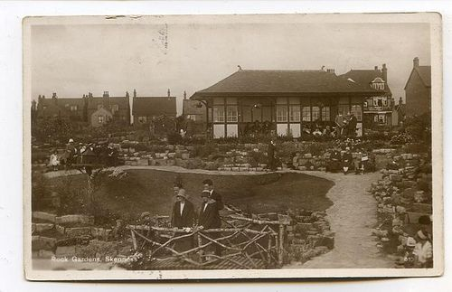 The rock gardens at Skegness, and they are still there!
