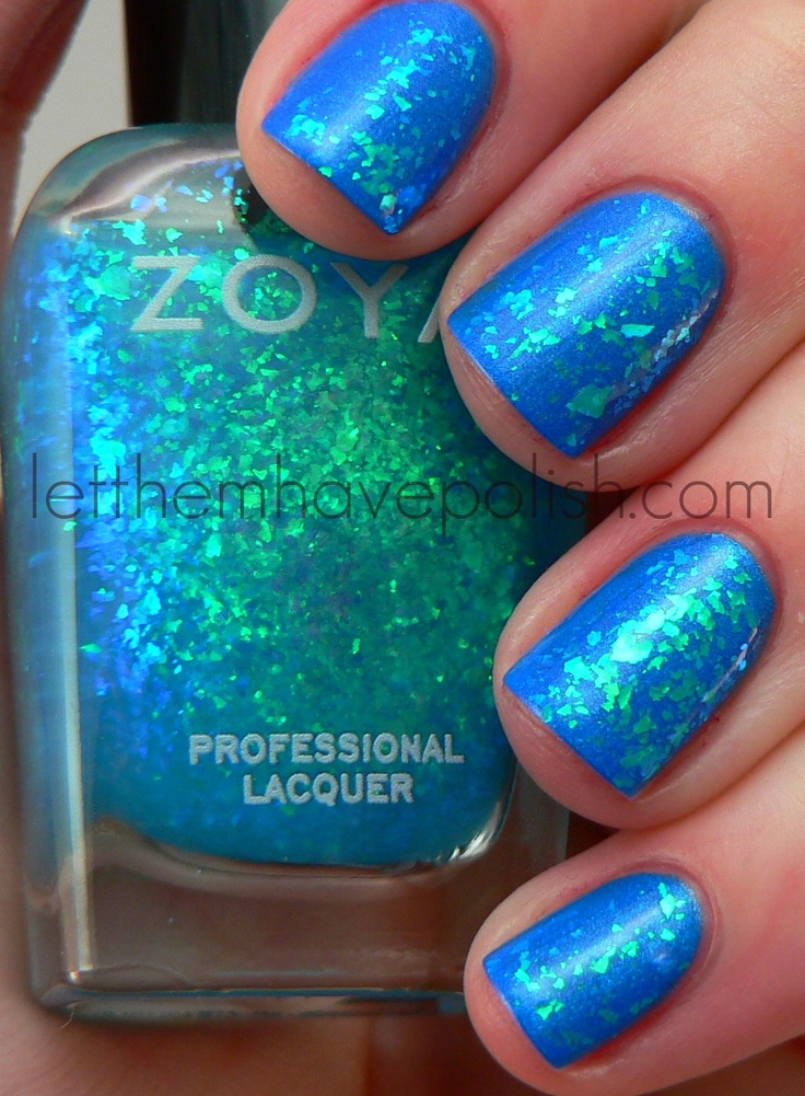 Zoya - Maisie. Love love these colors together!