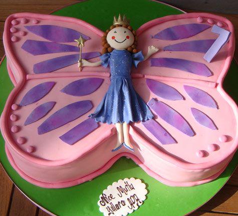 Sevgi kelebeğim pastası