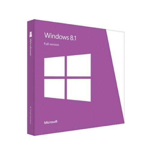 WINDOWS 8.1 32/64 bit ENG INTL DVD BOX original Full Version