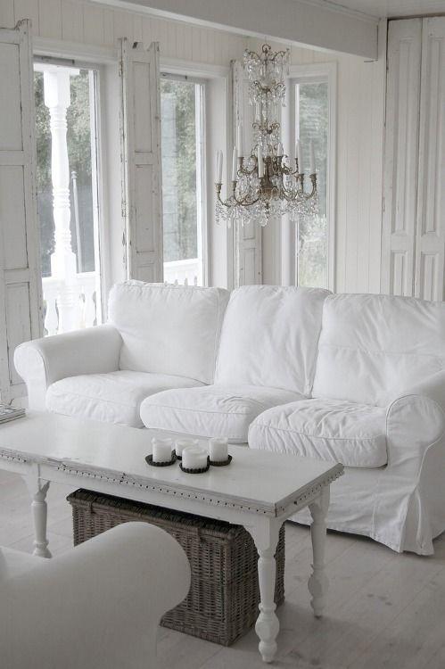 Oltre 25 fantastiche idee su divano shabby chic su for Planimetrie di cottage francesi