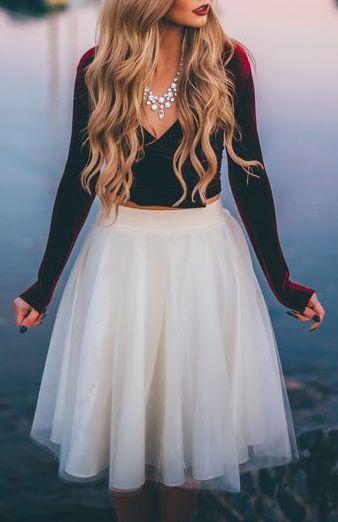 Ashley Tulle Skirt
