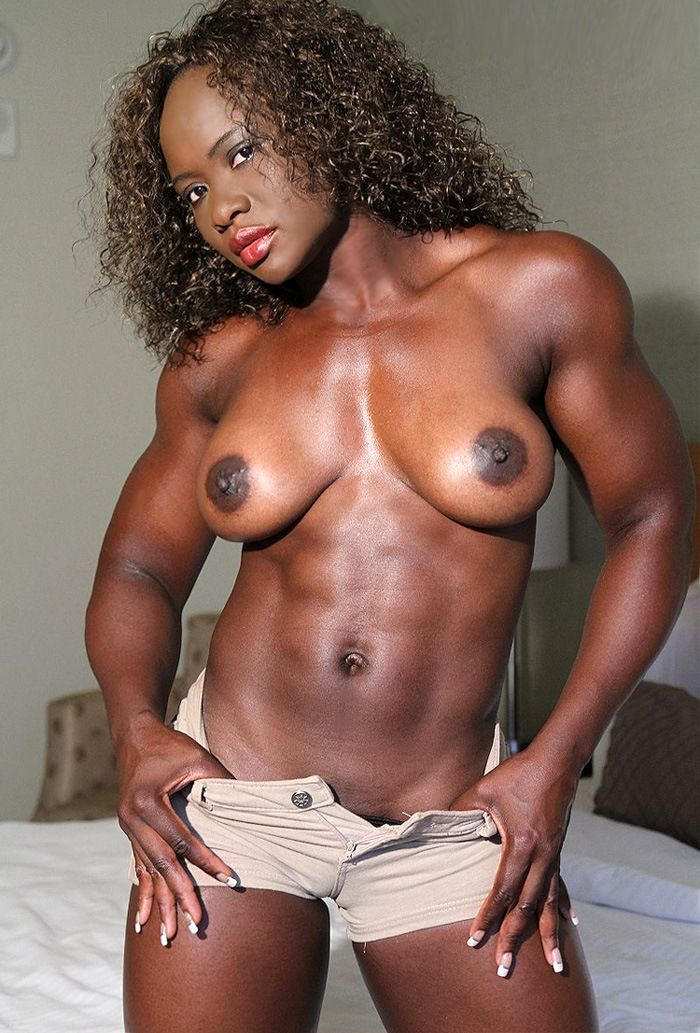 Black ladies with muscle porno