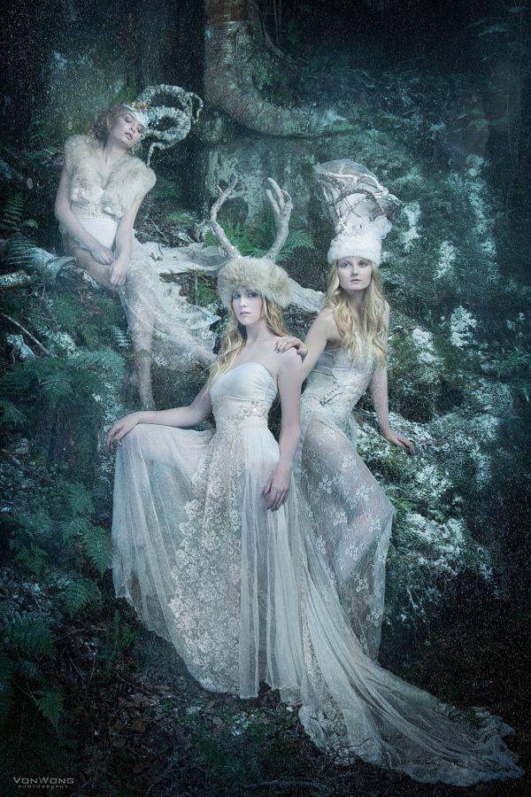 Queens of winter by Benjamin Von Wong - Photo 21627369 - 500px