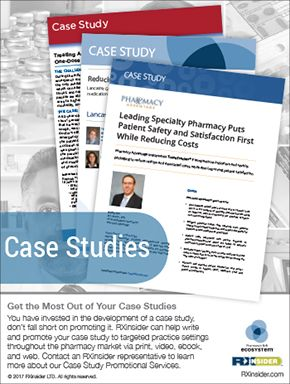 RXinsider - Case Studies (as seen in the 20Ways Winter 2017 Hospital & Infusion Issue).