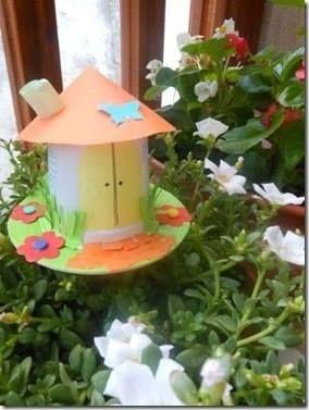 Как сделать домик для феи в саду 1