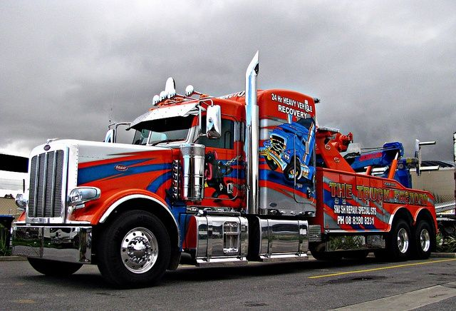 763 best images about big rig wreckers on pinterest. Black Bedroom Furniture Sets. Home Design Ideas