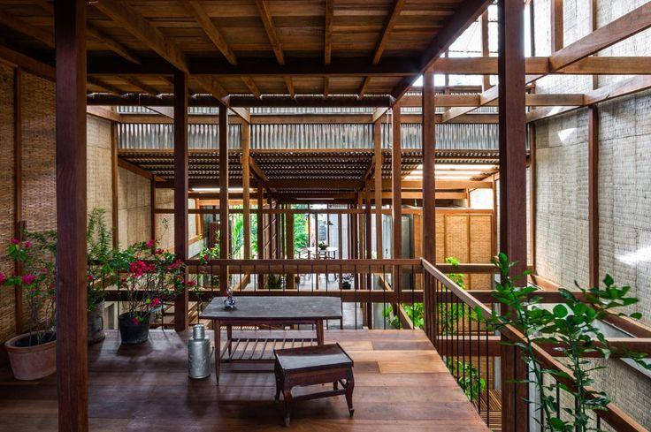 Nishizawa Architects, House in Chau Doc, Vietnam, 2017