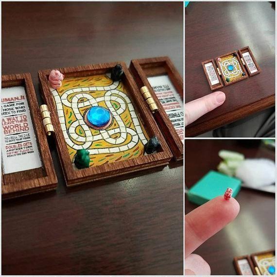Board Game Ideas: 1:12 Miniature Jumanji Game Board