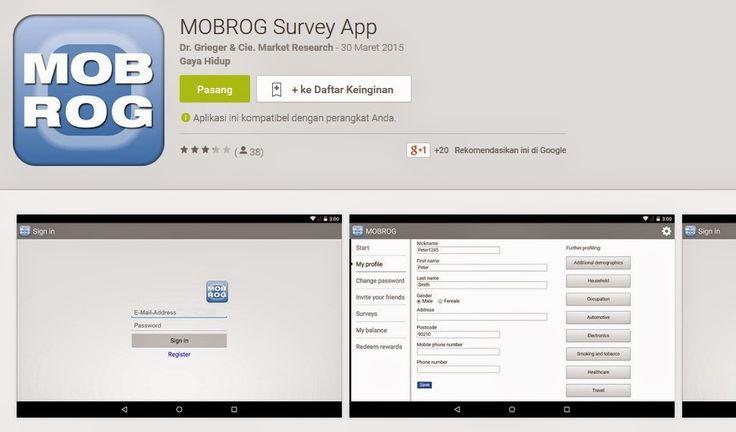 MOBROG Survey Online Indonesia | Artikel Seputar Bisnis Online