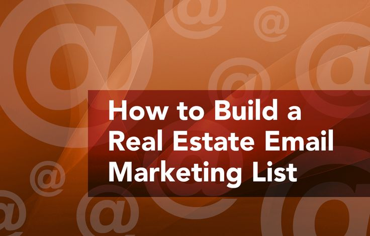 Maximize the reach of your emails! Use these real estate email marketing tips on-site and off-site to build your first email list and to grow the your email list with new subscribers. http://plcstr.com/1yHz0rT