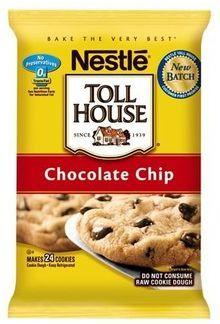 nestle tollhouse cookies