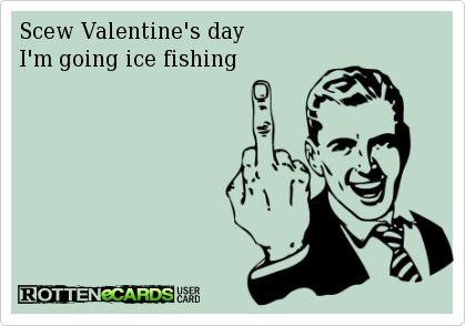 ICE FISHING valentine's day - Google Search