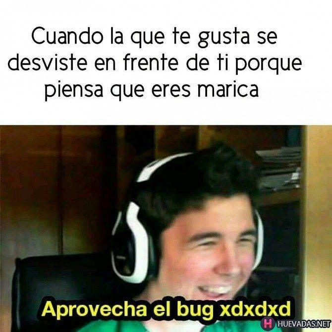 Aprovecha el bug!  #huevadasnet Para más visita: http://www.Huevadas.net