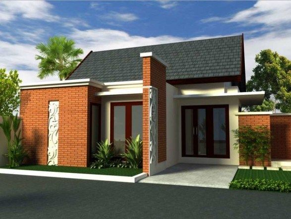 70 Examples Of Simple House Models That Look Luxurious And Modern Dunia Adsense Minimalist House Design House Design Simple House