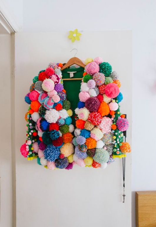 pom poms make everything better / natalie mccomas photography