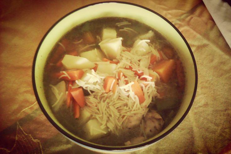 Sopa de Pollito