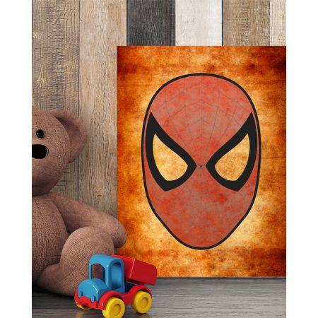 Spiderman Mask Canvas Art - Marvel Canvas Art