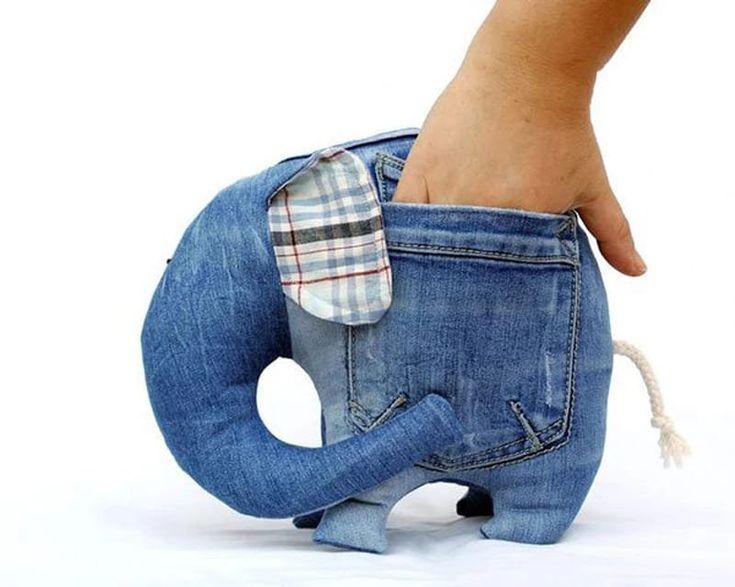 25 идей, как использовать старые джинсы