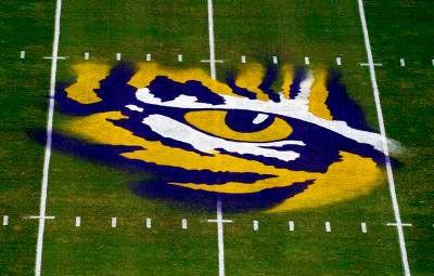 laid on the eye of Tiger Stadium...last regular season game of the 2007 season - Death Valley - Baton Rouge, LA