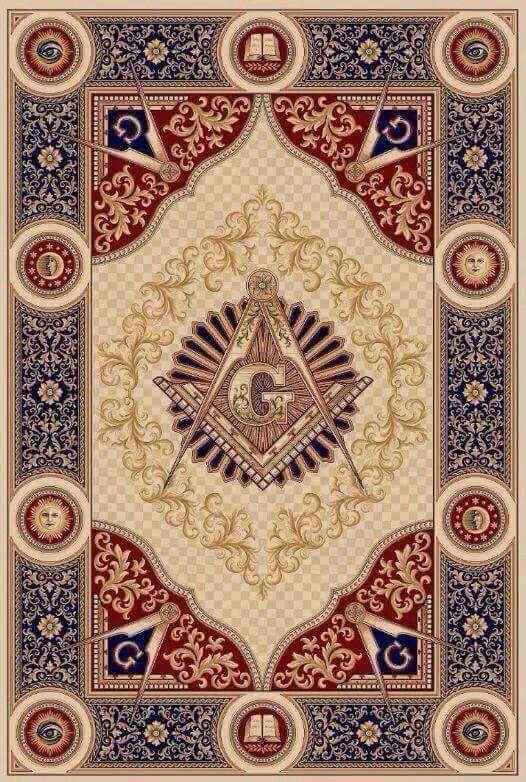Masonic tapestry
