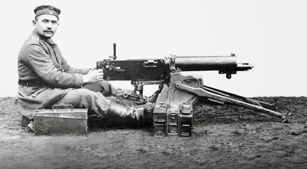 Machine Guns: Maxim MG 08 ww1