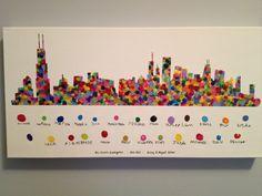refaire Tokyo de la même façon que Chicago, empreintes de doigt