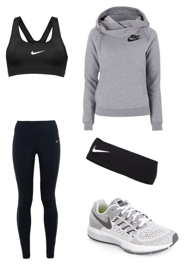 Untitled #10 by hongjina on Polyvore featuring polyvore, fashion, style, NIKE and clothing