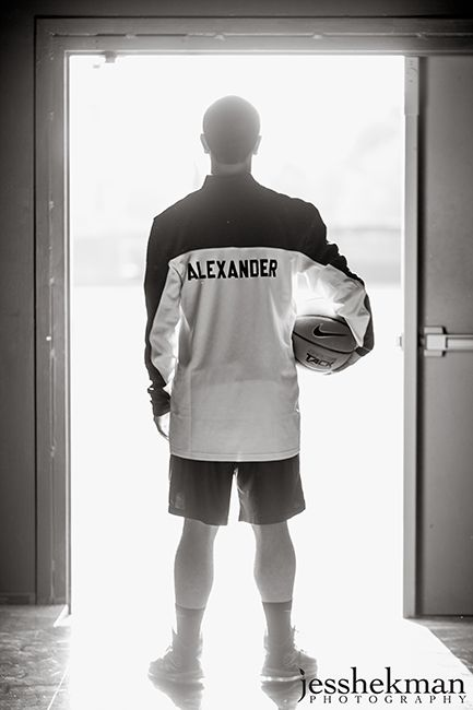 Basketball senior photos {JessHekman Photography}